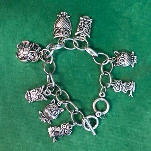 Owl Toggle Bracelet 5/$25